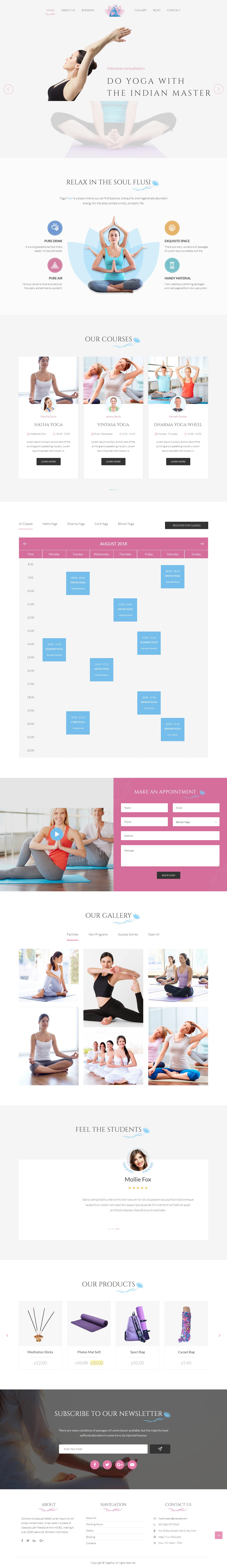 Flusi - Best Premium Outdoor Activities WordPress Theme