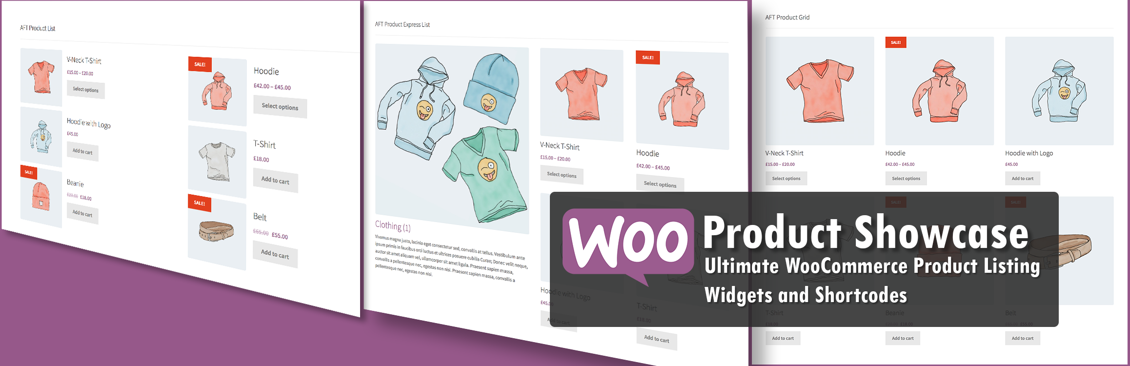 Woo Product Showcase