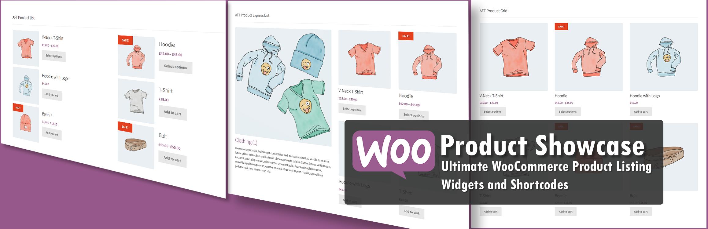Woo Product Showcase