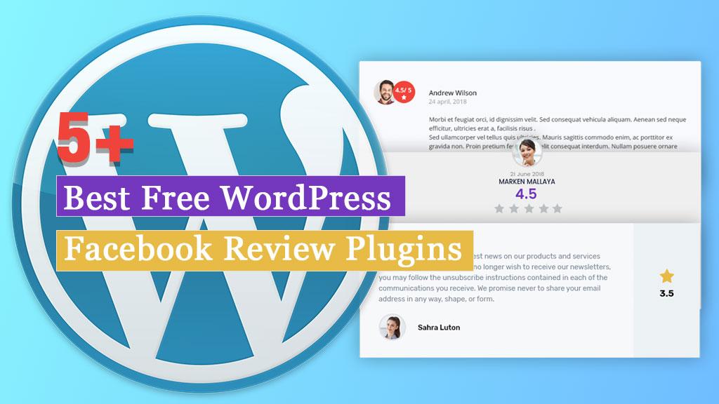 Free WordPress Facebook Review Plugins