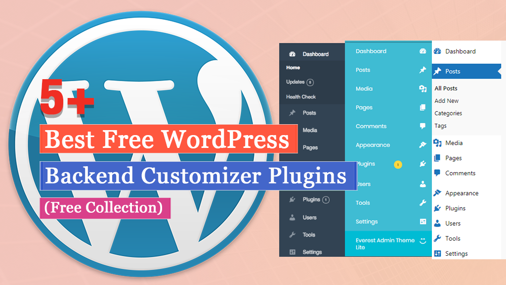 Free WordPress Backend Customizer Plugins