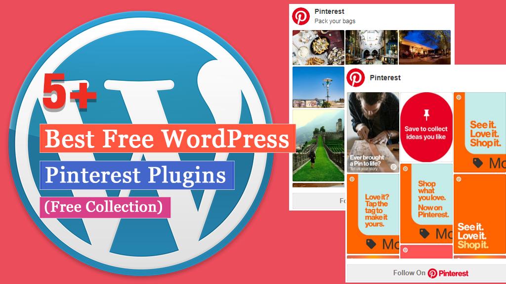 Free WordPress Pinterest Plugins