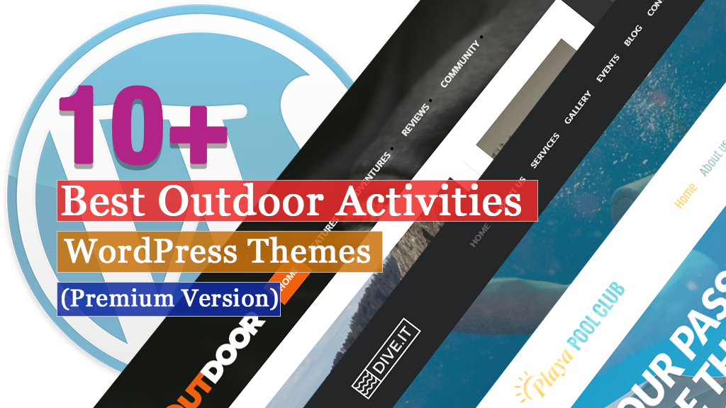 Best Premium Outdoor Activities WordPress Themes