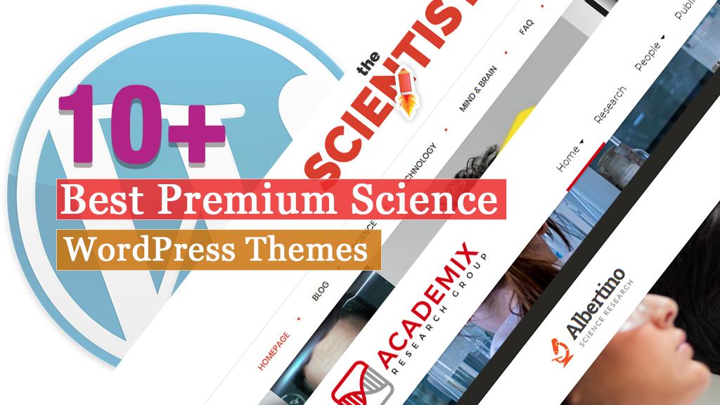 10+ Best Premium Science WordPress Themes