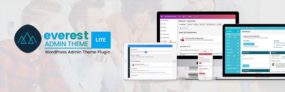 Everest Admin Theme Lite – Best Free WordPress Backend Customizer Plugin