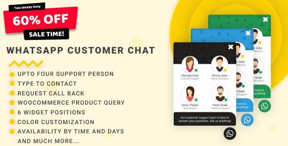 WhatsApp Customer Chat