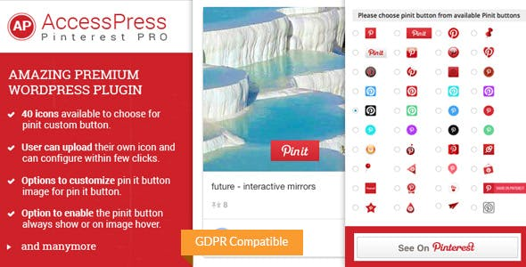 AccessPress Pinterest Pro