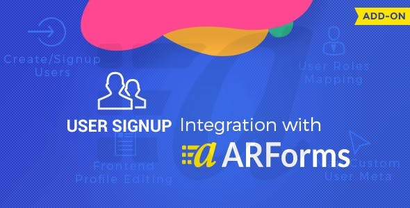 User Signup with ARforms