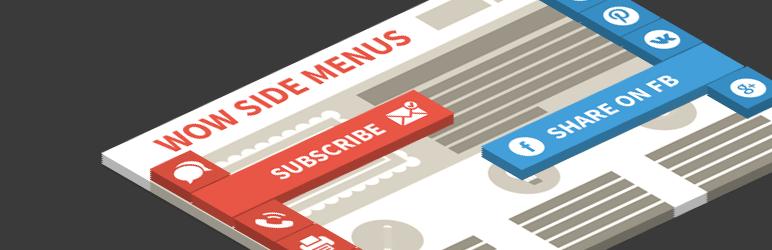 Wow Side Menu – Best Free WordPress Floating Menu Plugin
