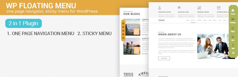 WP Floating Menu – Best Free WordPress Floating Menu Plugin