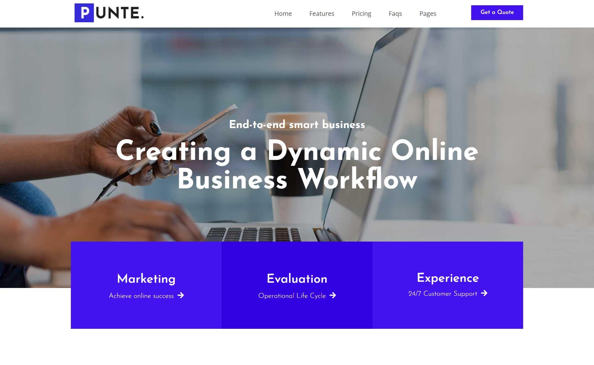 punte-wordpress-theme